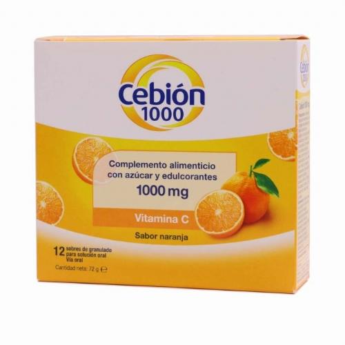 CEBION 1000 SOLUCION 12 SOBRES