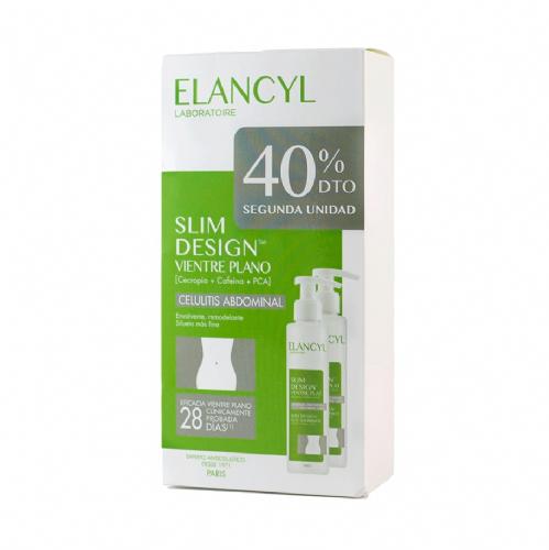Elancyl DUPLO Slim Desing Vientre plano (2 ud x 150 ml)