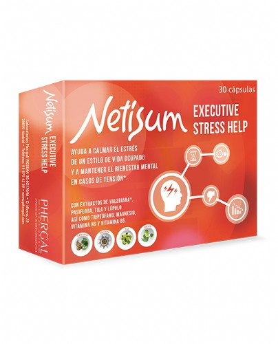 Netisum Executive Stress Help (30 cápsulas)