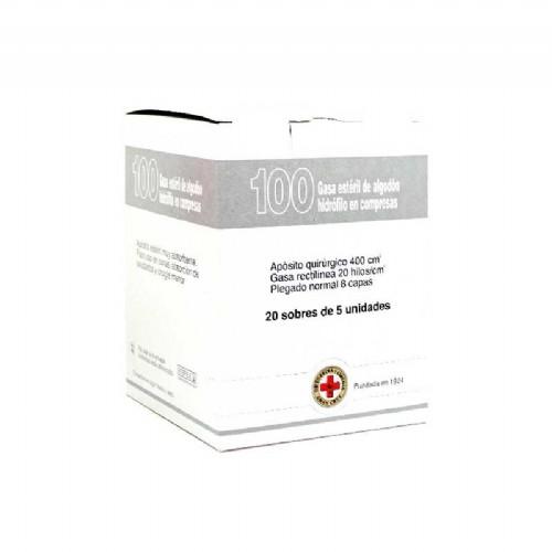 Gran Cruz Gasa de algodón (100 ud)