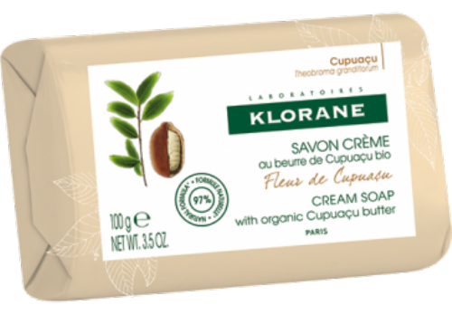 Klorane jabón crema fleur de cupuaçu 100g
