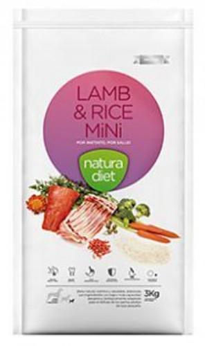 nd lamb & rice mini 500g