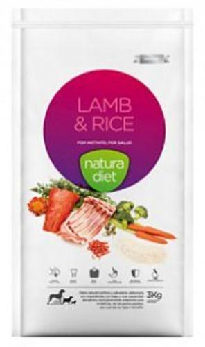 nd lamb & rice 500g