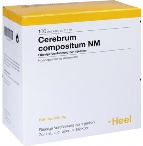 Cerebrum compositum NM Heel (100 ampollas x 2,2 ml)