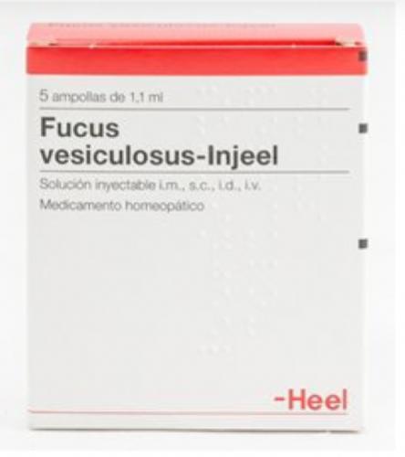 Fucus Vesiculosus-Injeel Heel (5 ampollas)