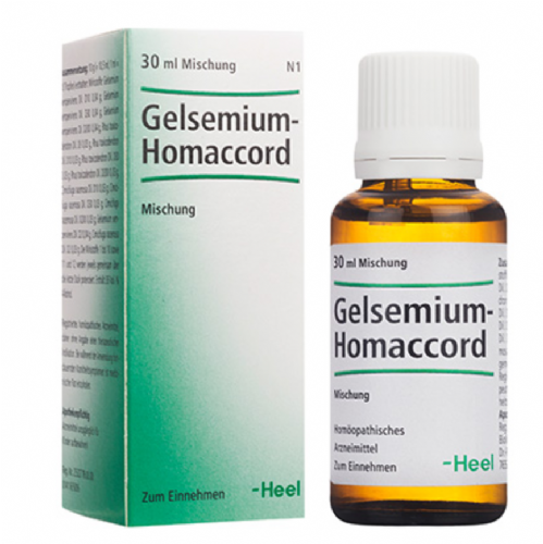 Gelsemium Homaccord Heel Gotas (30 ml)