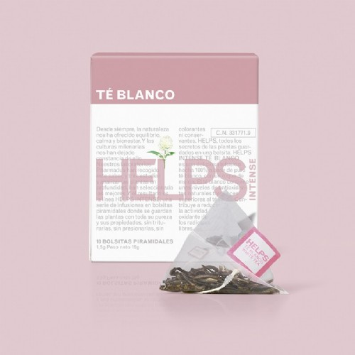 HELPS Intense Té blanco (10 infusiones)