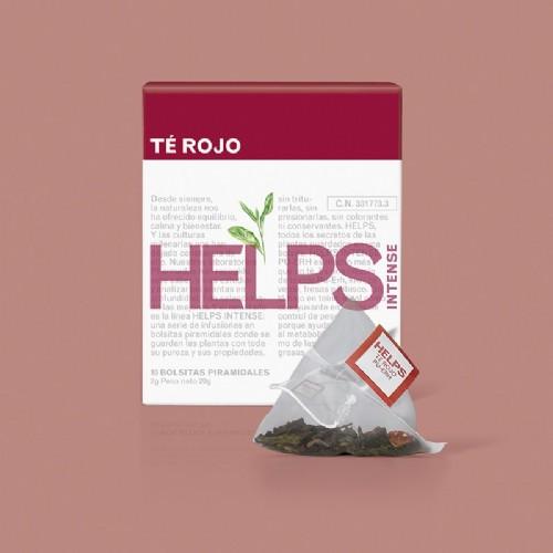 HELPS Intense té rojo (10 infusiones)