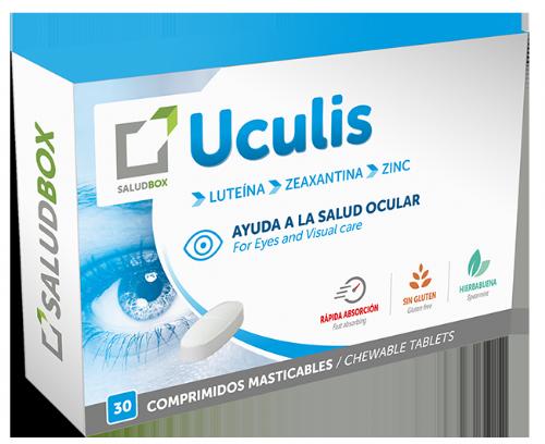 SaludBox Uculis (30 comprimidos masticables)