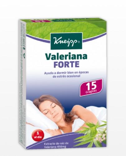 Kneipp Valeriana Forte  (15 Grageas)
