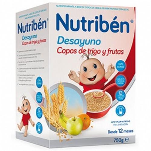 Nutribén Desayuno trigo y frutas (600 g)