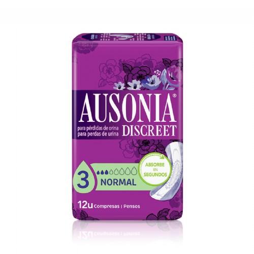 Ausonia Discreet Normal (12 unidades)