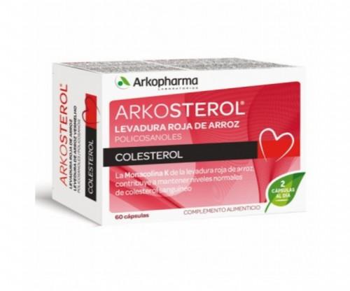 Arkosterol Levadura Roja de Arroz (60 cápsulas)