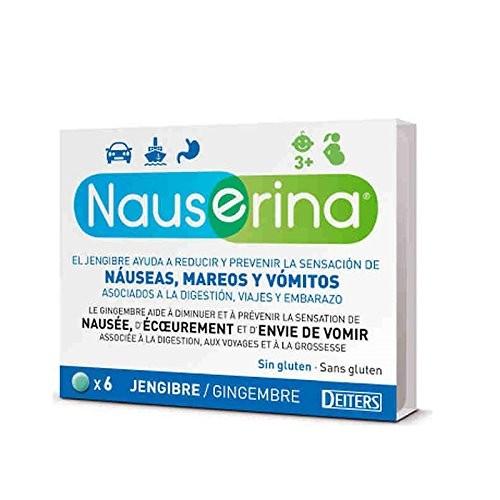 Nauserina (6 comprimidos)