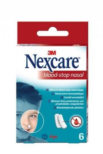 3M Nexcare Blood Stop Tapón nasal (6 ud)