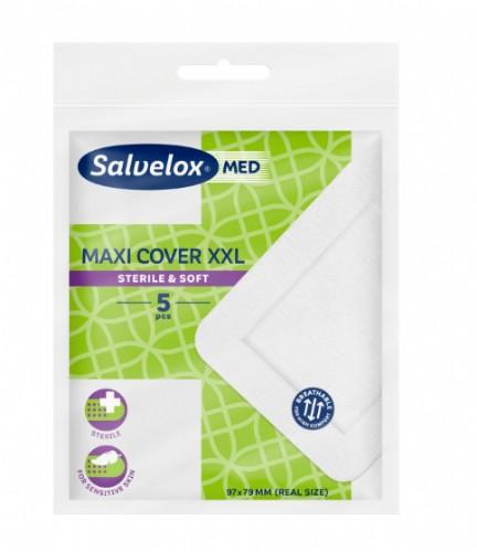 Salvelox Med Maxi Cover XXL Apósito Esteril - 97 x 79 mm (5 ud)Salvelox Med Maxi Cover XXL Apósito Esteril - 97 x 79 mm (5 ud)