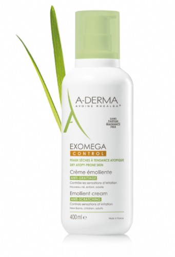 A-Derma Exomega Control Crema Emoliente (400 ml)
