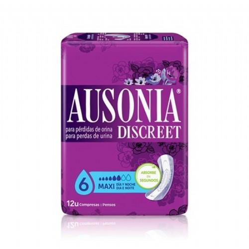 Ausonia Discreet Maxi Day & Night (12 unidades)