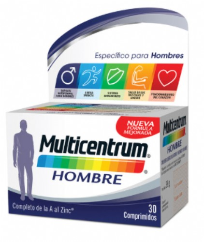 Multicentrum Hombre (30 comprimidos)