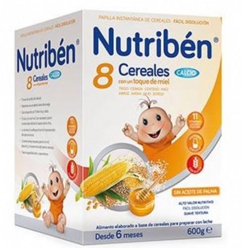 Nutribén® 8 Cereales con un toque de miel Calcio