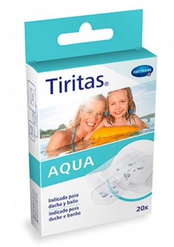 Hartmann Tiritas Aqua 3 Tamaños (20 ud)