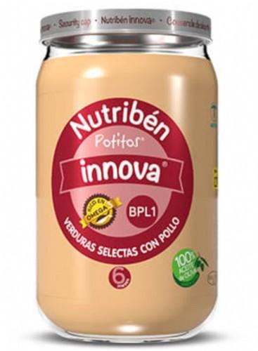 Potito Nutribén iIova verduras selectas con pollo (250 g)