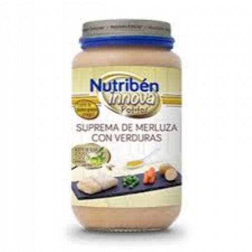 Potito Nutribén Innova® suprema de merluza con verduras