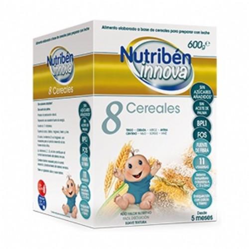 Nutribén Innova 8 Cereales (600 g)