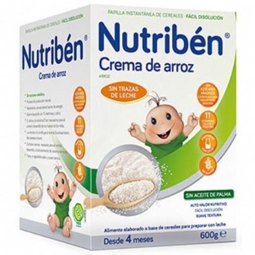 Nutribén Crema de Arroz (600 ml)
