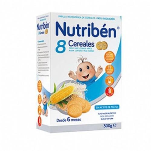 NUTRIBÉN 8 CEREALES GALLETAS MARIA (300 g)