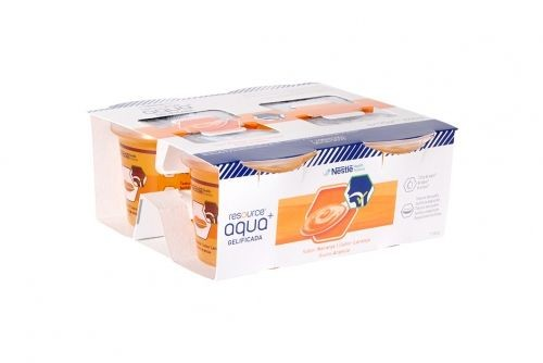 Resource Agua Gelificada sabor Naranja (125 g x 4 ud)