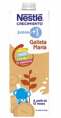 Nestlé Junior Leche Crecimiento con Galleta 1+ año (1 L)