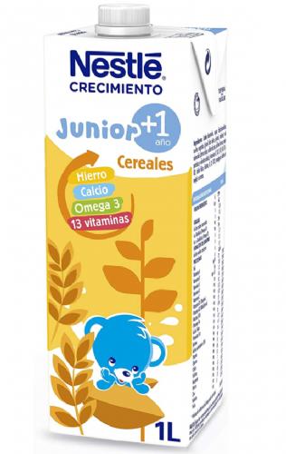 Nestlé Junior Crecimiento 1+ Cereales a partir de 1 año (1 L)
