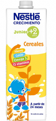 Nestlé Junior Leche Crecimiento Original 2+ años (1 L)