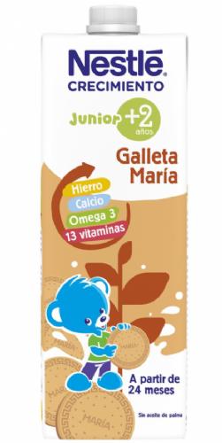Nestlé Junior Leche Crecimiento con Galleta 2+ años (1 L)