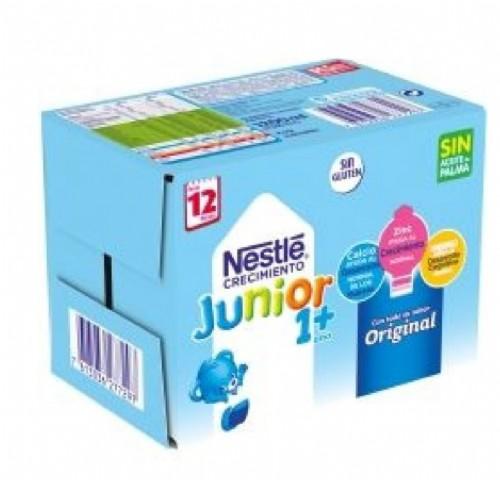 Nestlé Junior Leche de Crecimiento Original 1+año (6 ud x 200 ml)