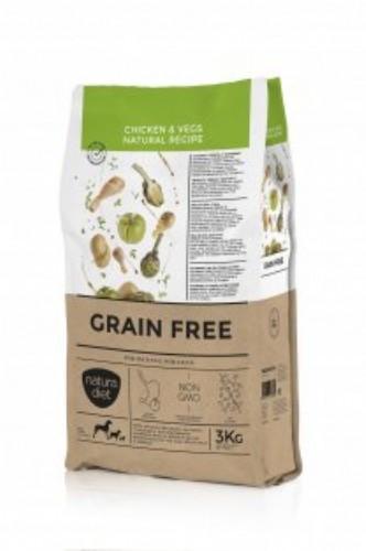 nd grain free chicken & vegs 3 kg
