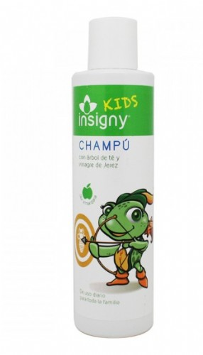Insigny Kids Champú Arbo del té y Vinagre de Jerez