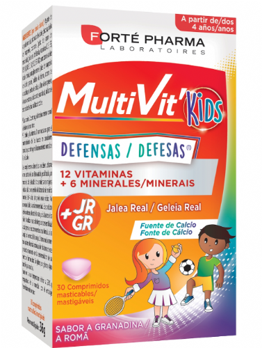 Forté Pharma Energy Multivit Junior (30 comprimidos masticables)