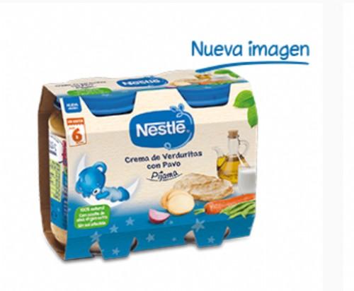 Nestlé Puré Cena Crema de verduritas con pavo (200 g x 2 ud)