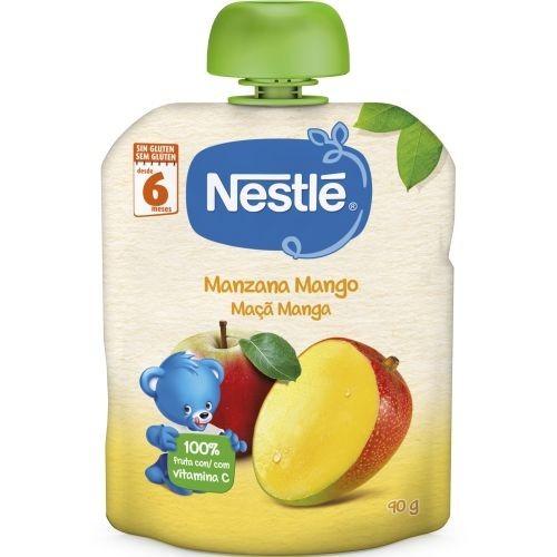 Nestlé Puré Manzana y Mango +6 m (90 g)