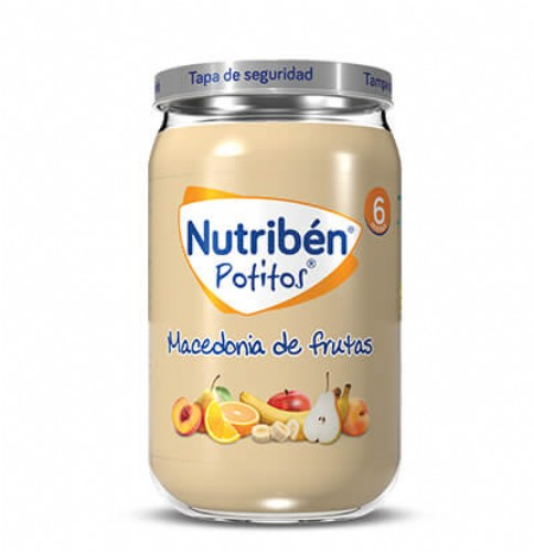 Nutribén Potito Macedonia de frutas +6m (235 g)