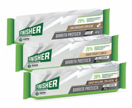 Finisher Barrita Proteica Avellana y chocolate con leche (35 g x 1 ud)