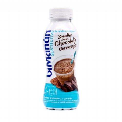 Bimanan Beslim Sustitutive Batido Smoothie Sabor Chocolate Cremoso 330ml