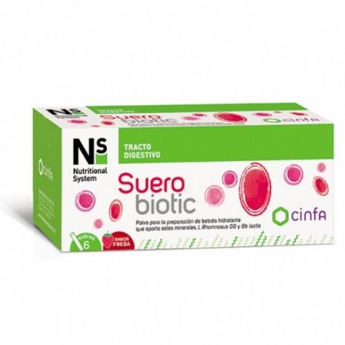 Ns Suerobiotic 6 Sobres Fresa