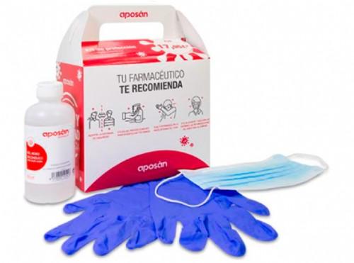 Aposán Kit de Protección Higiene coronavirus
