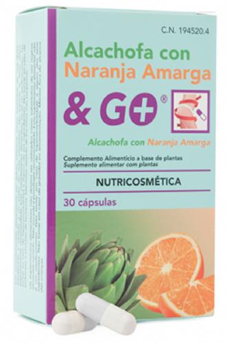 Alcachofa con Naranja Amarga & Go (30 cápsulas)