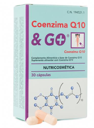 Coenzima Q10 & Go (30 cápsulas)