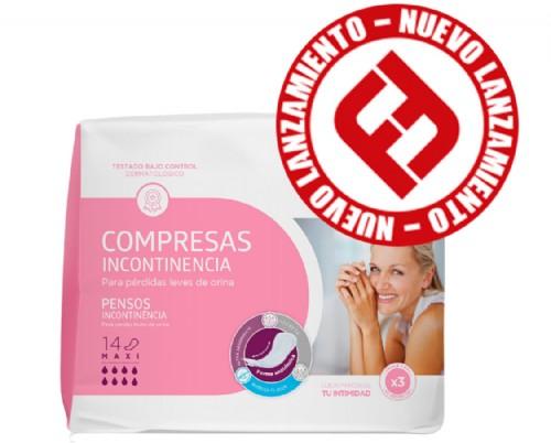 Aposán Compresas para la incontinencia leve Maxi (24 ud)