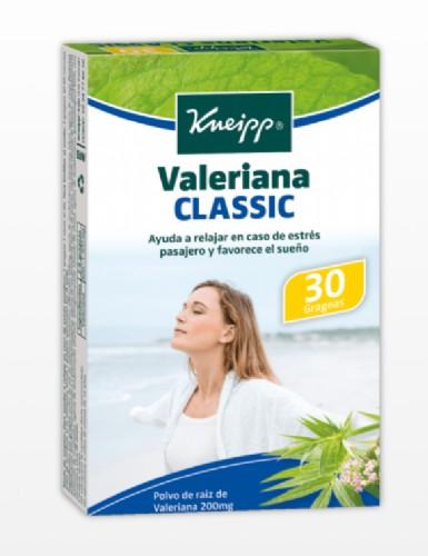Kneipp Valeriana Classic  (30 Grageas)